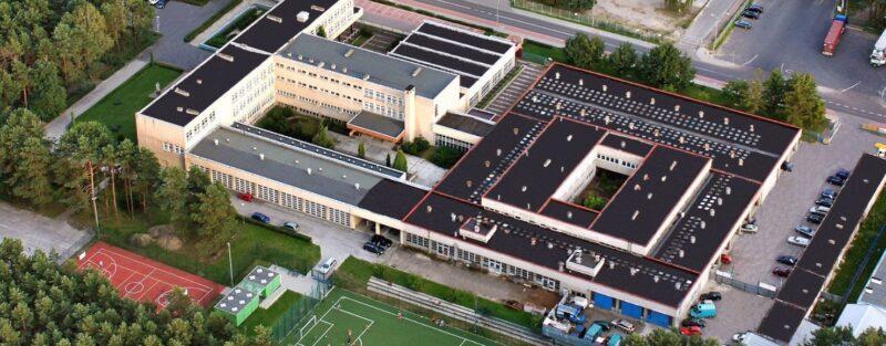 Centrum Edukacji Zawodowej - budynek szkoły
