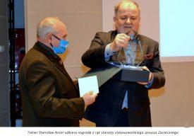 Nagroda dla radnego i trenera Stanisława Anioła
