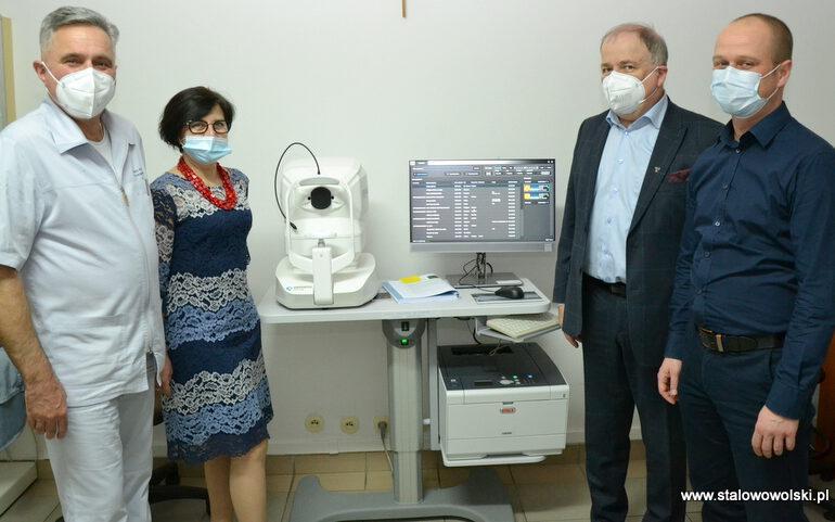 Nowy sprzęt na okulistyce