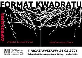 """Finisaż wystawy Elżbiety Brzezińskiej """"Format kwadratu"""""""