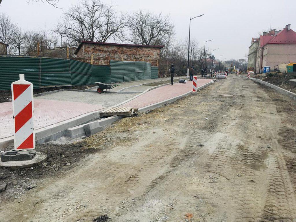 Rozbudowa drogi powiatowej - ul. Dąbrowskiego w Stalowej Woli
