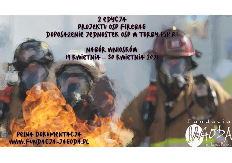 Projekt OSP Firebag dla strażaków - ochotników
