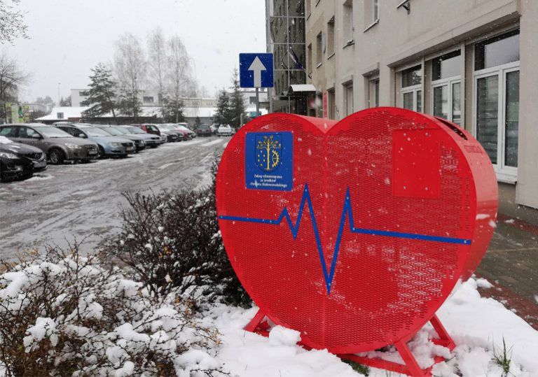 11 czerwonych serc stanie w Powiecie Stalowowolskim