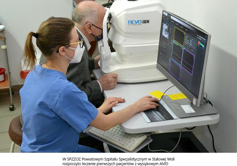 Szpital rozpoczął terapię chorych na AMD