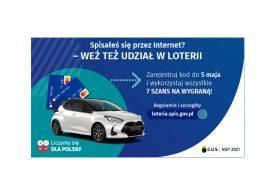 Trwa Narodowy Spis Powszechny Ludności i Mieszkań 2021 - weź udział w loterii