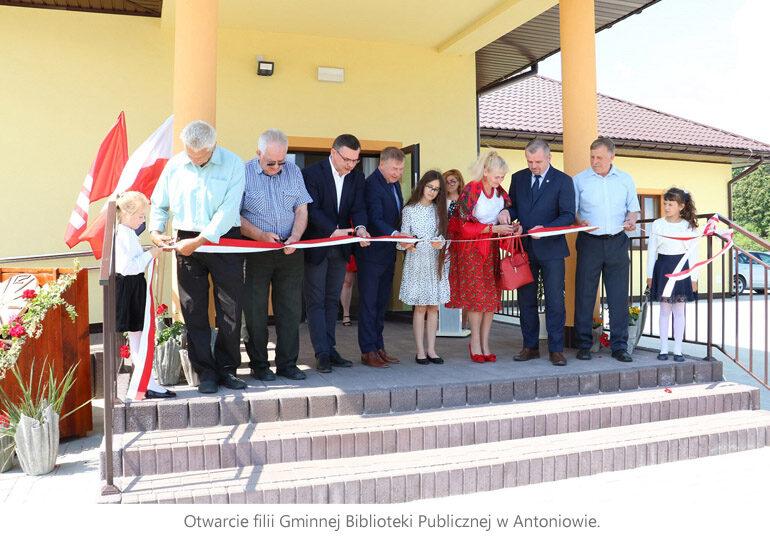 Mieszkańcy Antoniowa mają centrum kulturalne