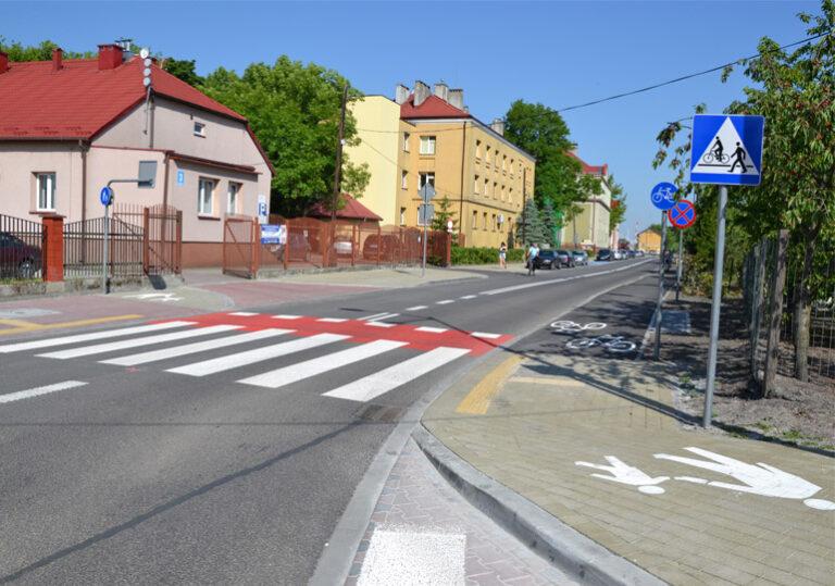 Ulica Dąbrowskiego oficjalnie oddana do użytku
