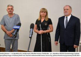 Starosta przedstawił kadrze nową p.o. dyrektora szpitala