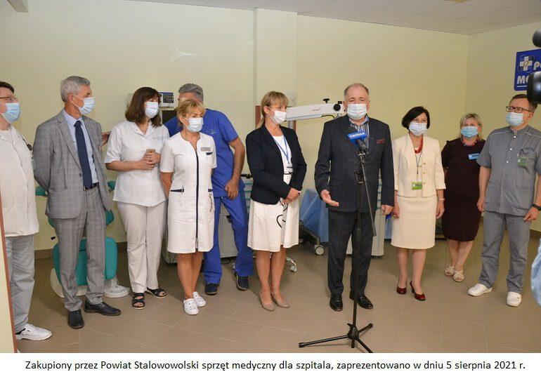 Powiat zakupił nowoczesny sprzęt medyczny dla szpitala