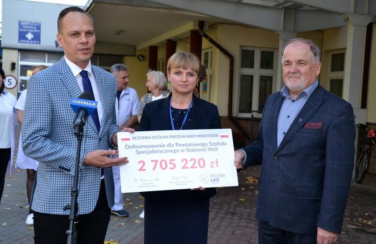 Rządowe pieniądze na sprzęt dla stalowowolskiego szpitala